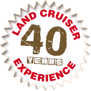 30 years of land cruiser experience!